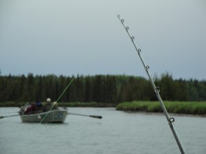 river fishing the kasilof Alaska