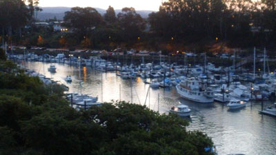 santa cruz fishing boats - california